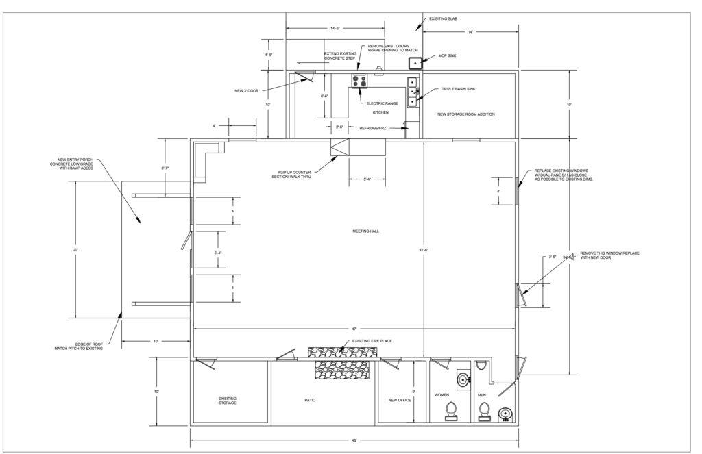 BBCC Floor Plan Concept